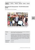 Politik_neu, Sekundarstufe I, Politische Ordnung, Wirtschaft und Arbeitswelt, Politische Ordnung auf Europaebene, Tausch, Kauf und Märkte, Leistungen der Europäischen Union, Qualitätsstandards, Binnenmarkt, Verbraucherschutz, Ware, Kaufentscheidung, Reiseschutz, Qualitätsstandard, Rückgaberecht, Garantiezeit, Ersatzprodukt, EU-Spielzeugrichtlinie, Lebensmittelsicherheit, Qualität, Roaming, Krankenversicherung, Fluggastrechte, Bio-Logo, Lobbyismus, EFSA, Glyphosat