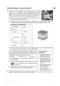 Mathematik_neu, Sekundarstufe I, Zahl, Raum und Form, Größen und Messen, Terme und Gleichungen, Geometrie in der Ebene, Flächeninhalt, Ebene Figuren und ihre Eigenschaften, Flächeninhaltsberechnungen, Oberflächen, Vierecke, Figur, Kreis, Viereck, Quadrat, Variable, Lösungsgleichung, Prisma, Regel, Grundfläche, Deckfläche, Höhe