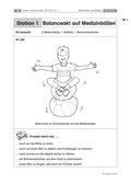 Sport_neu, Primarstufe, Körperwahrnehmung und Bewegungsfähigkeit, Bewegen an Geräten/ Turnerische Übungen, Koordinative Fähigkeiten, Balancieren, Balancieren auf labiler Unterlage, Geräteparcours, Bewegungsrepertoire erweiter