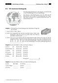 Erdkunde_neu, Sekundarstufe I, Methoden im Geographieunterricht, Atlasarbeit, Lagebestimmung mit dem Gradnetz, Orientierung mit dem Atlas, Norden, Süden, Osten, Westen, Kompas, Länge, Breite