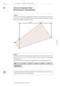Mathematik_neu, Sekundarstufe I, Größen und Messen, Raum und Form, Flächeninhalt, Geometrie in der Ebene, Flächeninhaltsberechnungen, Ebene Figuren und ihre Eigenschaften, Konstruktionen, Dreiecke, Geradenspiegelung, Größe, Scheitelpunkt, Dreieck, Trapetz