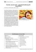 Biologie_neu, Sekundarstufe I, Der Mensch, Anatomie, Stoffwechsel, Bewegung und Gesundheit, Ernährung, Gesunde Ernährung, Gemüse, Obst, Fette, Kohlenhydrate, Kalorien, Schokolade, Gesundheit