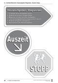 Schilder und Feedback-Karten