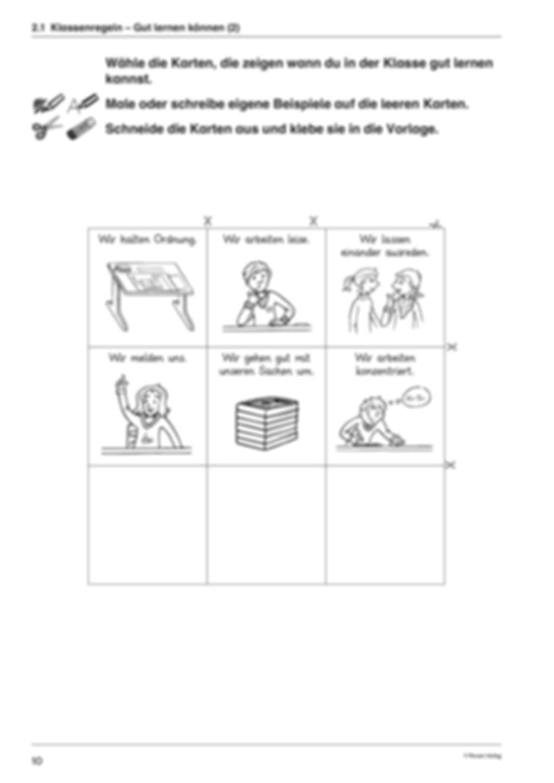Klassenregeln Preview 5