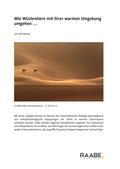 Biologie_neu, Sekundarstufe II, Tiere, Säugetiere, Lebensraum, abiotische Faktoren, Hyperthermie, Körperoberfläche, Bergmannsche Regel, Erdhörnchen, Kamel